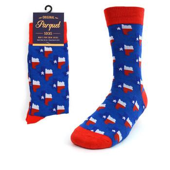 Men's Texas State Novelty Socks NVS1763