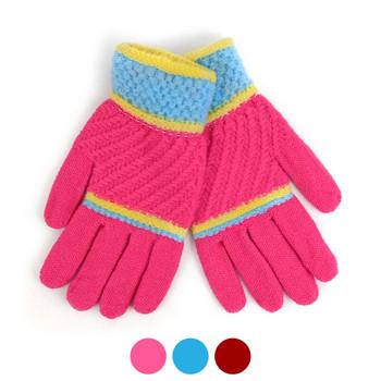 6pc Women's Knit Winter Gloves - LFG61-63