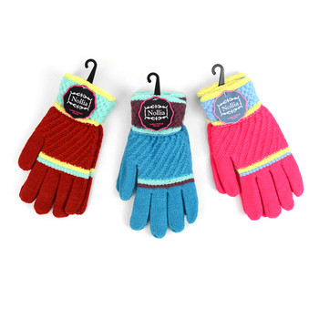 6pc Women's Knit Winter Gloves - LFG61-63