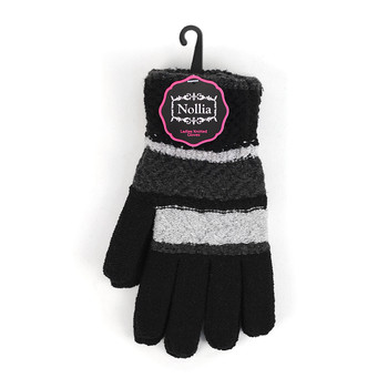 6pc Women's Knit Winter Gloves - LFG64-65