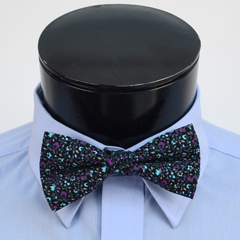 3pc Floral Wedding Cotton Banded Bow Tie - NFCB17132