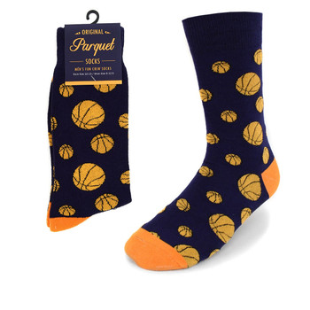 Men's Basketball Novelty Socks NVS1774-OR