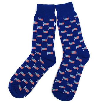 Men's American Flag Novelty Socks NVS1776-77