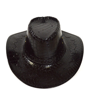 "6pc Pack 3.5"" Brim Cowboy Hat H9346"