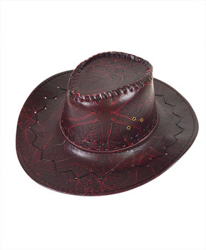 "6pc Pack 3.5"" Brim Cowboy Hat H9344"