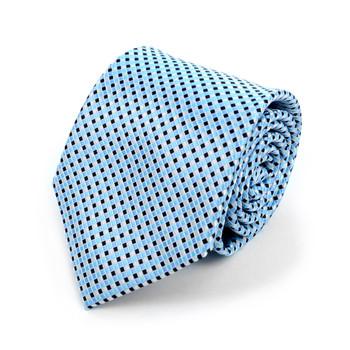 Geometric Microfiber Poly Woven Tie - MPW5908