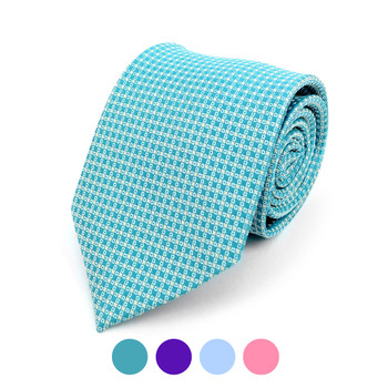 Dots Microfiber Poly Woven Tie - MPW5911