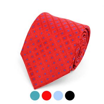 Geometric Microfiber Poly Woven Tie - MPW5912