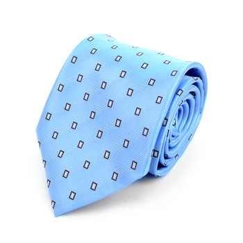 Dots Microfiber Poly Woven Tie - MPW5916