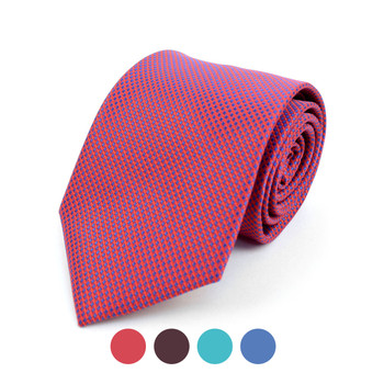 Dots Microfiber Poly Woven Tie - MPW5920