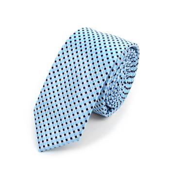 "Geometric Microfiber Poly Woven 2.25"" Slim Tie - MPWS5909"