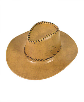 "6pc Pack 3.5"" Brim Cowboy Hat H9309"