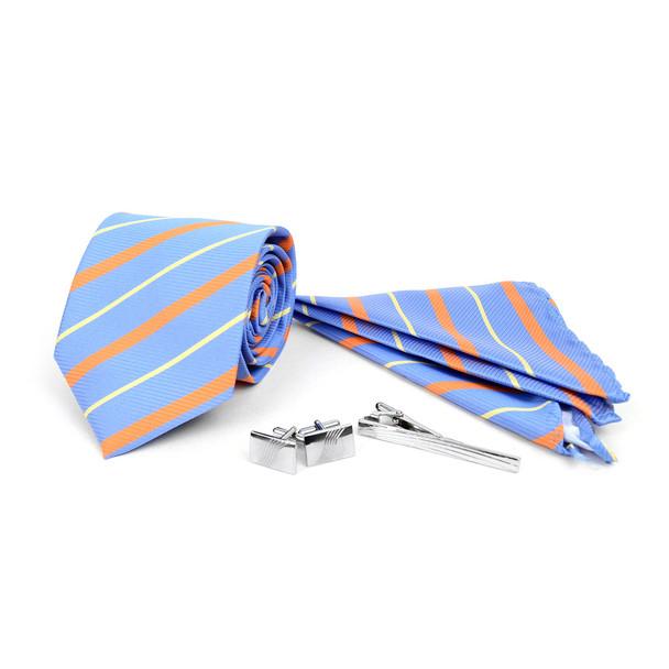 12pc Assorted Pack Tie, Hanky, Cufflink & Tie Bar Set - TCB4000
