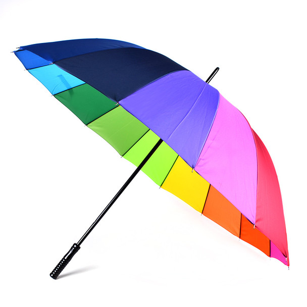 Manual Open Rainbow Canopy Umbrella - UM5018