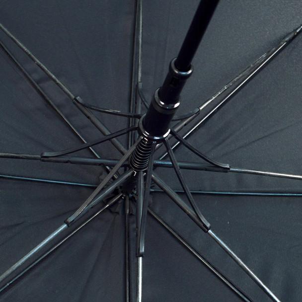 Auto Open Black Canopy Umbrella - UM5019