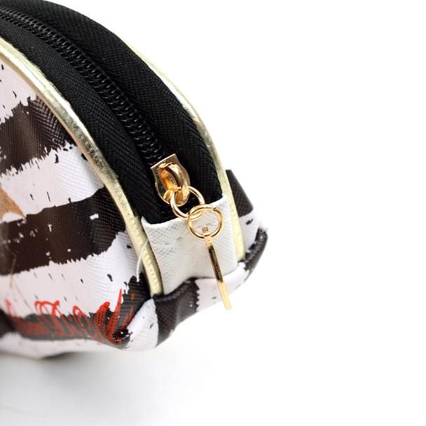 Ladies  Makeup Bag 3pc Set Cosmetic & Toiletry Bags - LNCTB1712