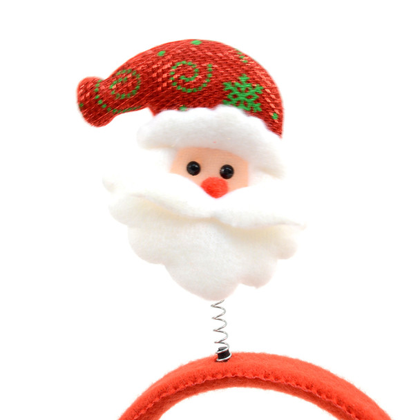 Christmas & Holiday Santa Claus Head Band - XWDC5109-H