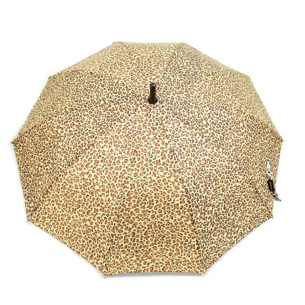 Animal Print Brown Cheetah Auto Open Umbrella - UM18061-CH/BRN