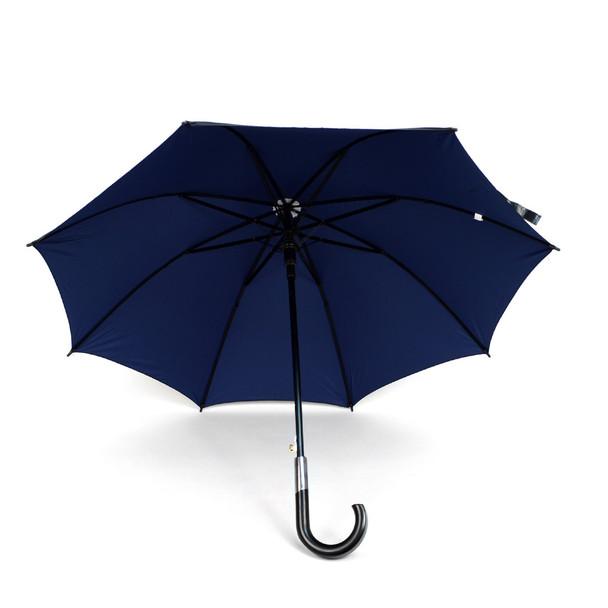 Black and Navy Auto Open Umbrella -UM18059-BLK