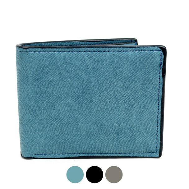 Bi-Fold  Leather Men's Wallet - MLW5192
