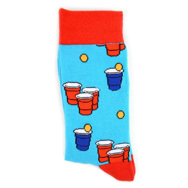 Men's Beer Pong Novelty Socks - NVS1912