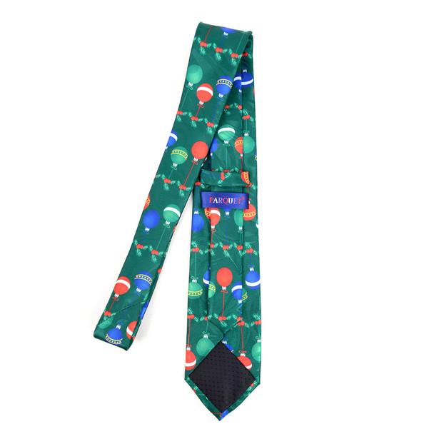 Men's Poly Woven Jacquard Christmas Neckties - XMT1801