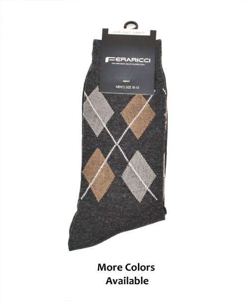 12pc Pack Feraricci Sock MS9129