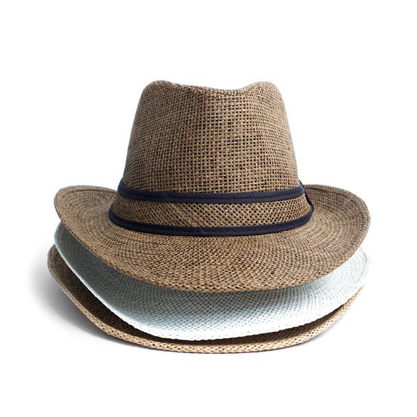 Spring/Summer Fashion Panama Fedora Hat - H180602
