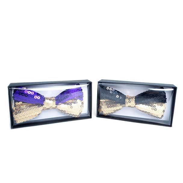 Men's Dual Sequin Bow Tie - DSQBT1200