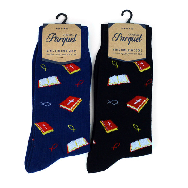 Men's Religion Premium Collection Novelty Socks - NVPS2008