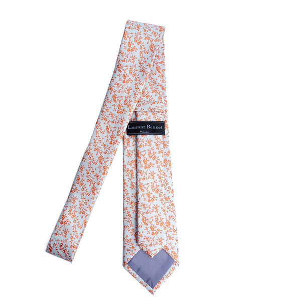 Floral Spring Microfiber Poly Woven Tie - MPW6924