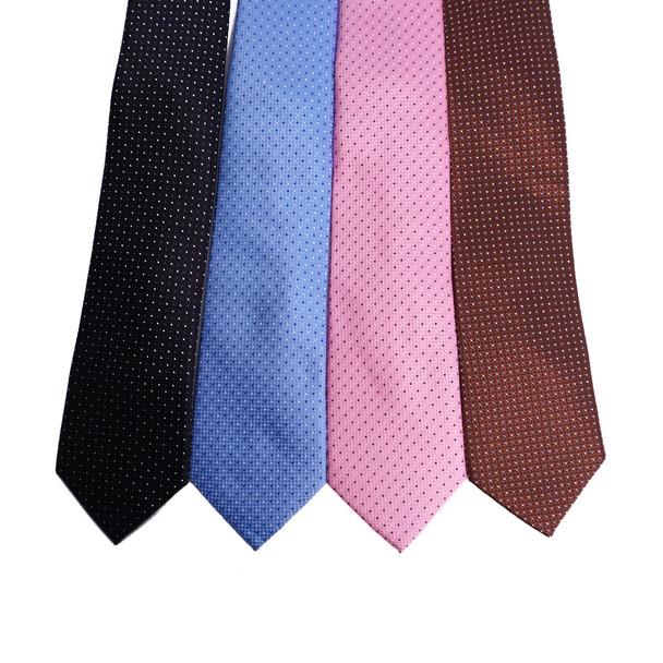 Dots Microfiber Poly Woven Tie - MPW6909