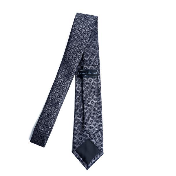 Geometric Microfiber Poly Woven Tie - MPW6902
