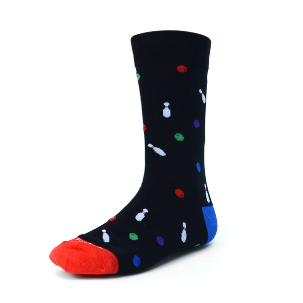 Men's Bowling Premium Collection Novelty Socks - NVPS2023