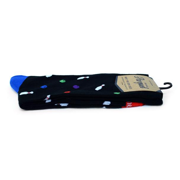 Men's Bowling Premium Collection Novelty Socks - NVPS2023