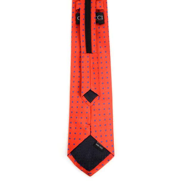 Men's Red Dots Zipper Tie - MPWZ-RD1