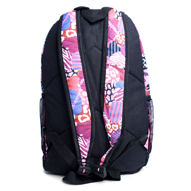 Sweetheart Mix Pattern School Backpack - FBP1200