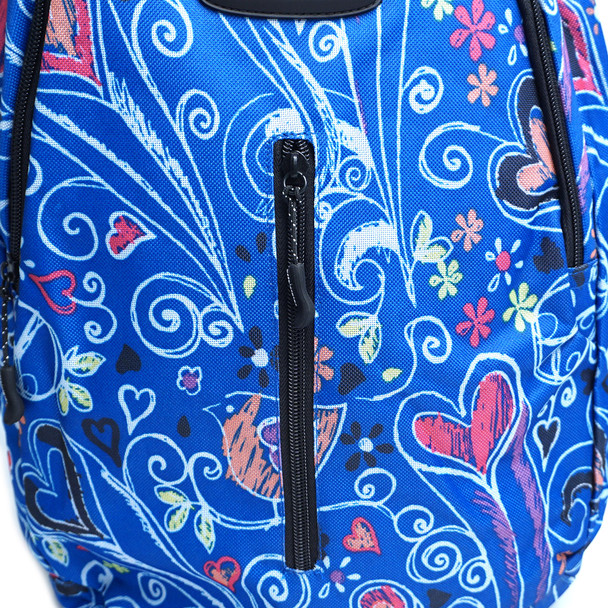 Chalk Drawing School Backpack - FBP1201