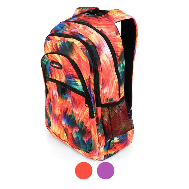 Abstract Colors  School Backpack - FBP1208