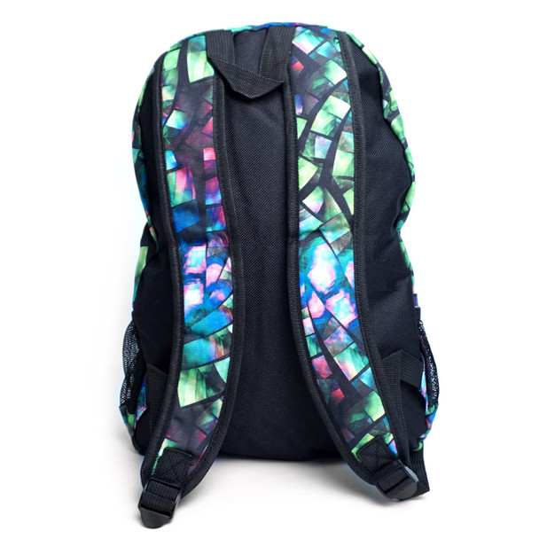 Geometric Pattern School Backpack - FBP1212