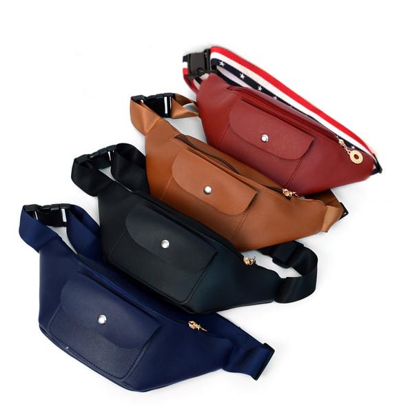 PU Leather Ladies FashionFanny Pack - LFBG1306