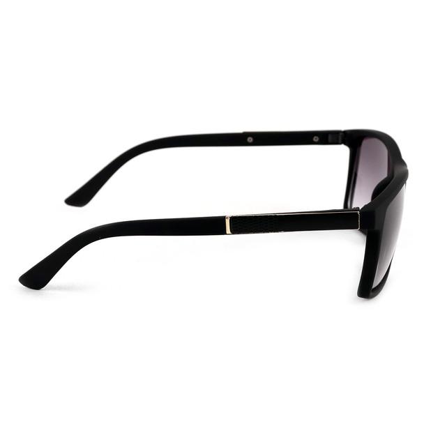 Black Matte Rectangle Sunglasses - MSG1007
