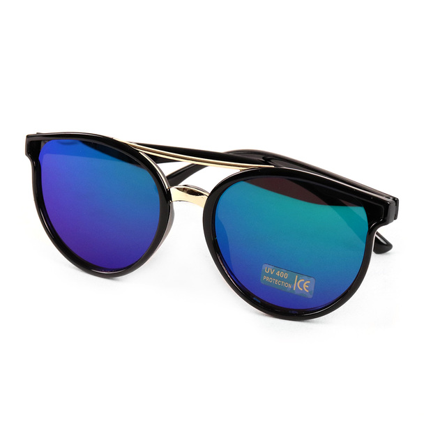 Round Mirrored Sunglasses - LSG1012