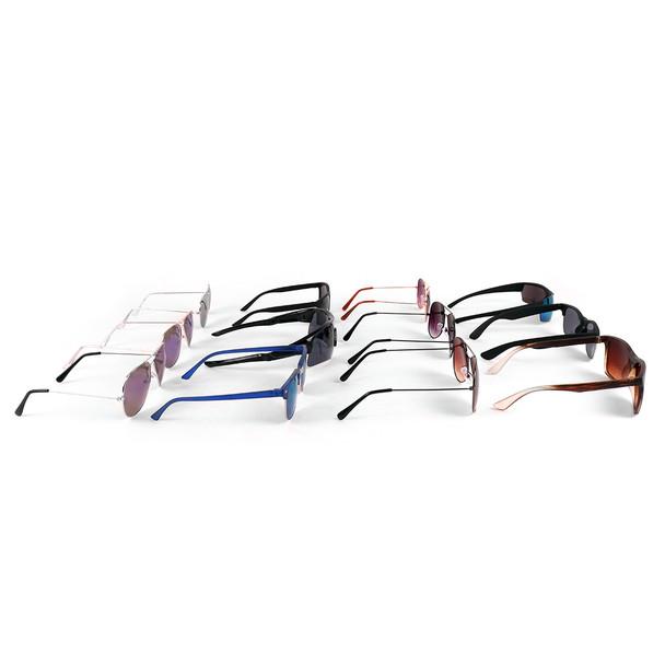 12pc Assorted Unisex Sunglasses - 12MSG1001