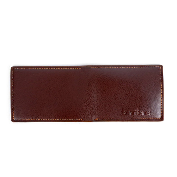 Bi-Fold Leather Men's Slim Wallet - MLW5283