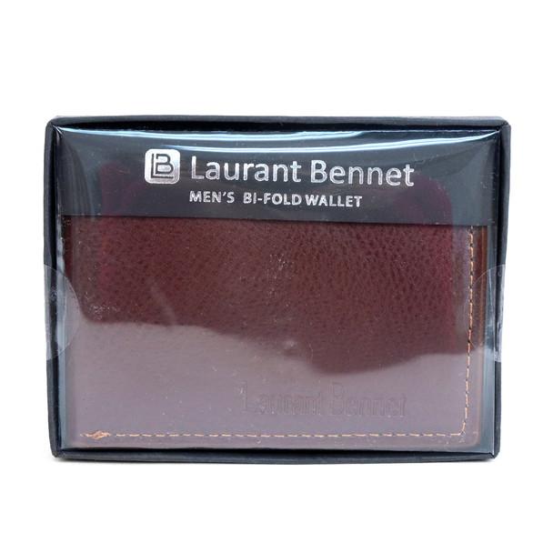 Bi-Fold Leather Men's Slim Wallet - MLW5283