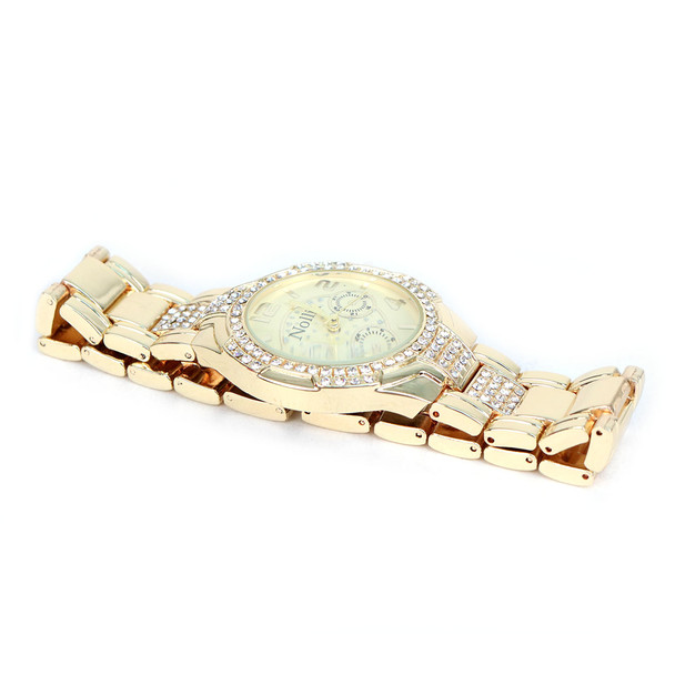 Gold Tone Ladies Dressy Watch - LWT2000-GD