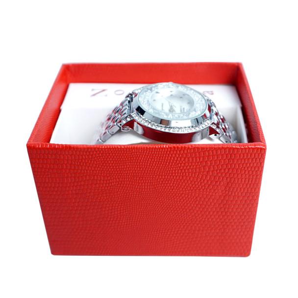 Silver Tone Ladies Dressy Watch - LWT2003-SIL