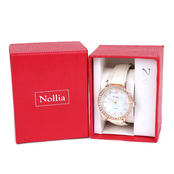 12pc Pre Pack Ladies Dressy Watch (PU & Rubber Band)  - 12LWT2300