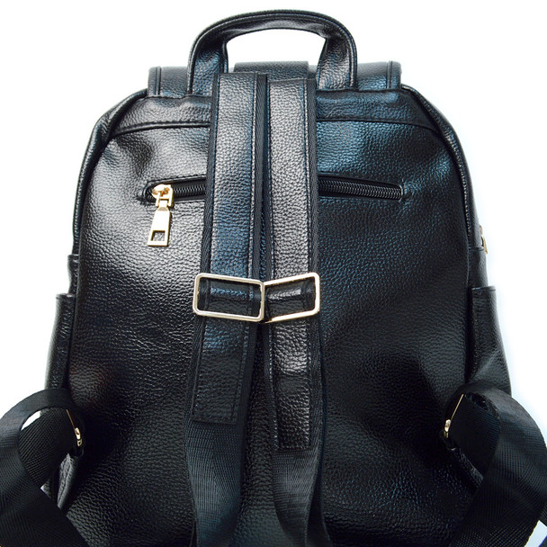 Women's PU Leather Casual Backpack - LBP2400
